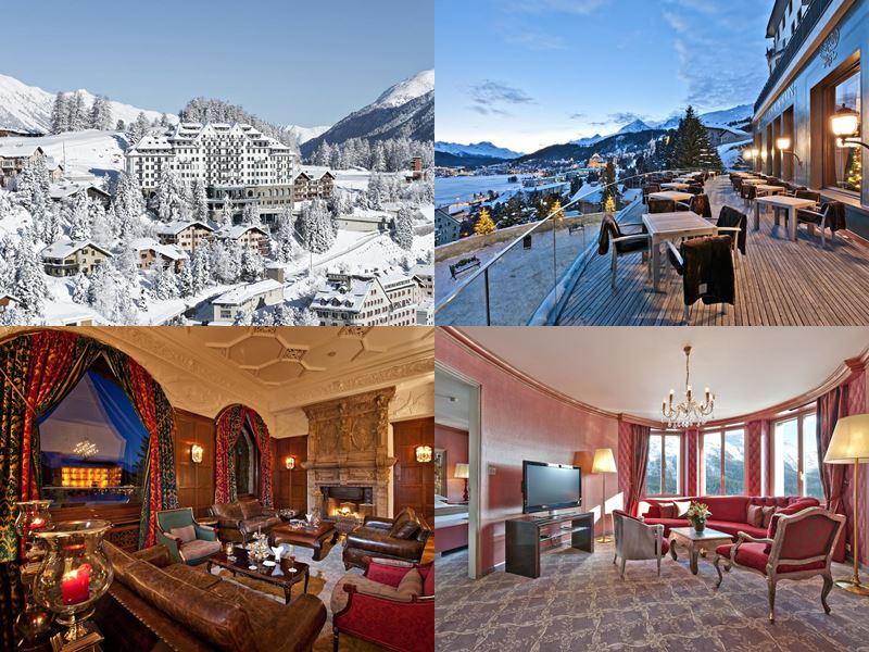 Новый год в Carlton Hotel St.Moritz (Санкт-Мориц)