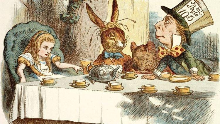 """Чай как вдохновение: Льюис Кэрролл, - безумное чаепитие из книги """"Алиса в стране чудес"""""""
