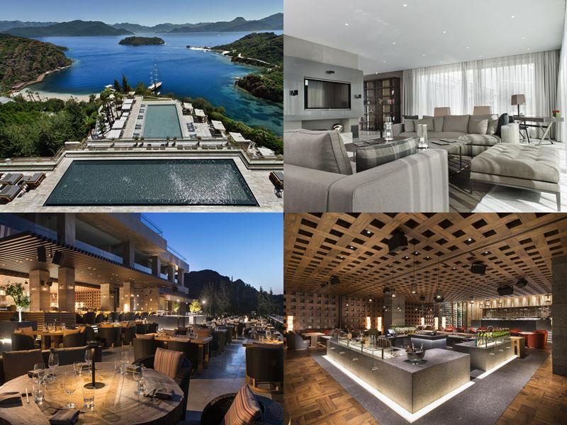 Дорогие роскошные отели Турции - D Maris Bay (Мармарис/Датжа)