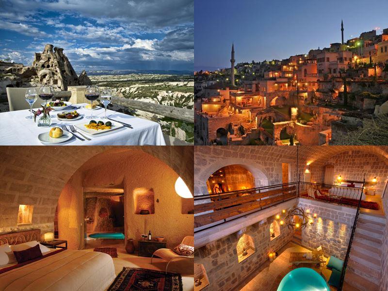 Дорогие роскошные отели Турции - Argos In Cappadocia (Каппадокия)