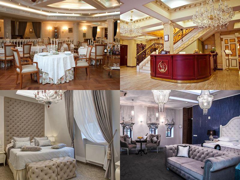 Лучшие бутик-отели России 2017 - Author Boutique Hotel (Golden Garden) (Санкт-Петербург)