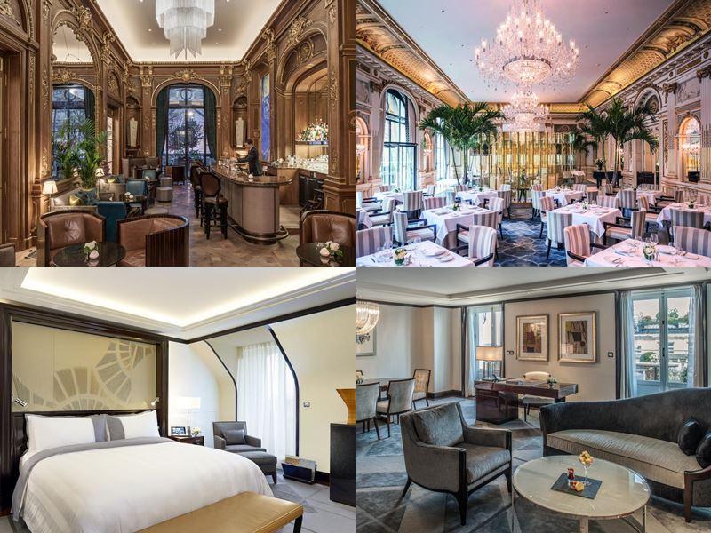 Лучшие дорогие отели Франции 2017 - The Peninsula Paris (Париж)