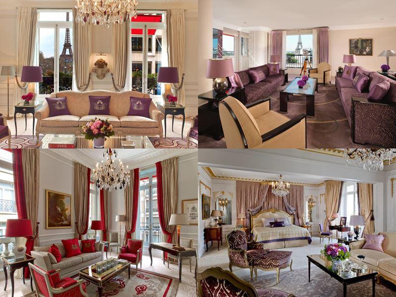 Лучшие дорогие отели Франции 2017 - Four Seasons Hotel George V (Париж) - интерьер номеров