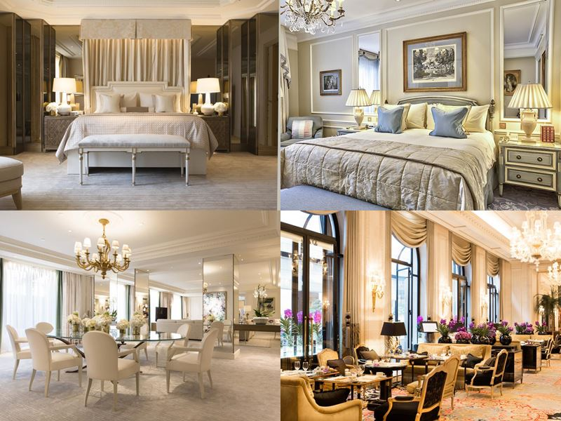 Лучшие дорогие отели Франции 2017 - Hôtel Plaza Athénée (Париж) - роскошный интерьер