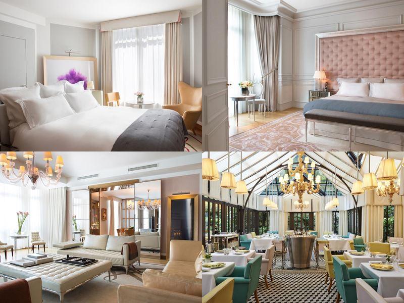 Лучшие дорогие отели Франции 2017 - Le Royal Monceau - Raffles Paris (Париж) - элегантный интерьер номеров