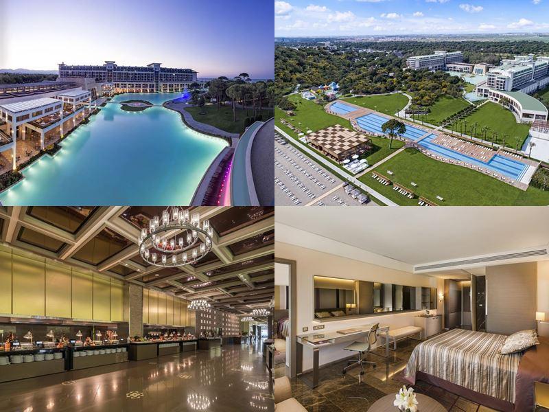 Лучшие курортные отели Турции 2017 - Rixos Premium Belek (5 звёзд)