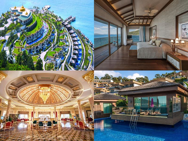 Лучшие курортные отели Турции 2017 - The Bodrum by Paramount Hotels & Resorts (5 звёзд)