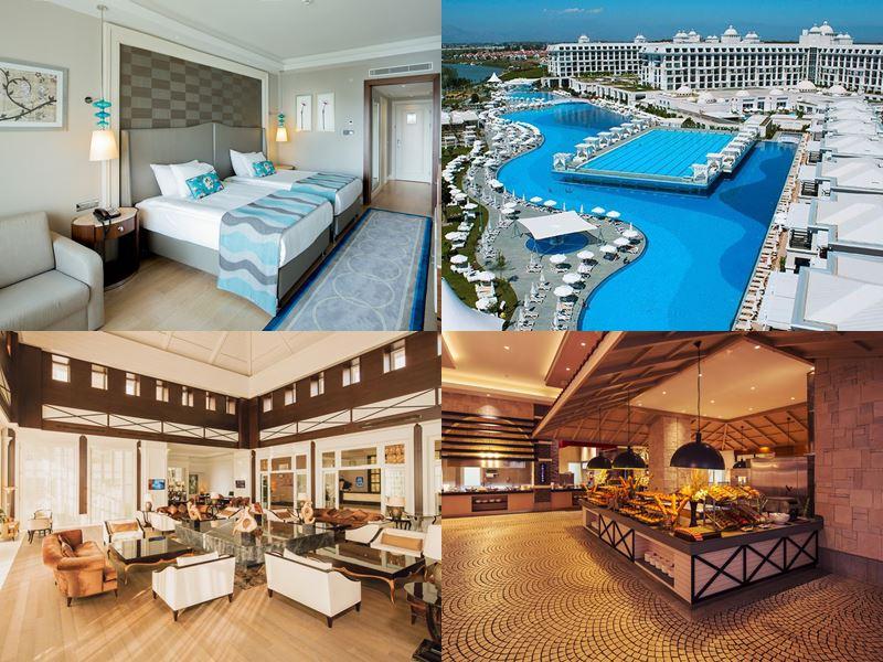 Лучшие курортные отели Турции 2017 - Titanic Deluxe Golf Belek (5 звёзд)