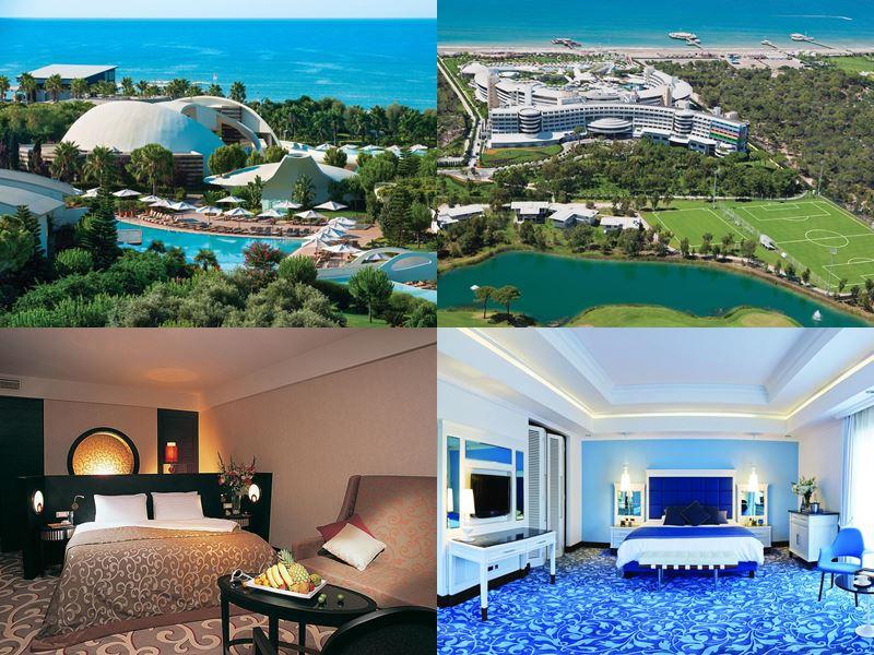 Лучшие курортные отели Турции 2017 - Cornelia Diamond Golf Resort & Spa (5 звёзд)