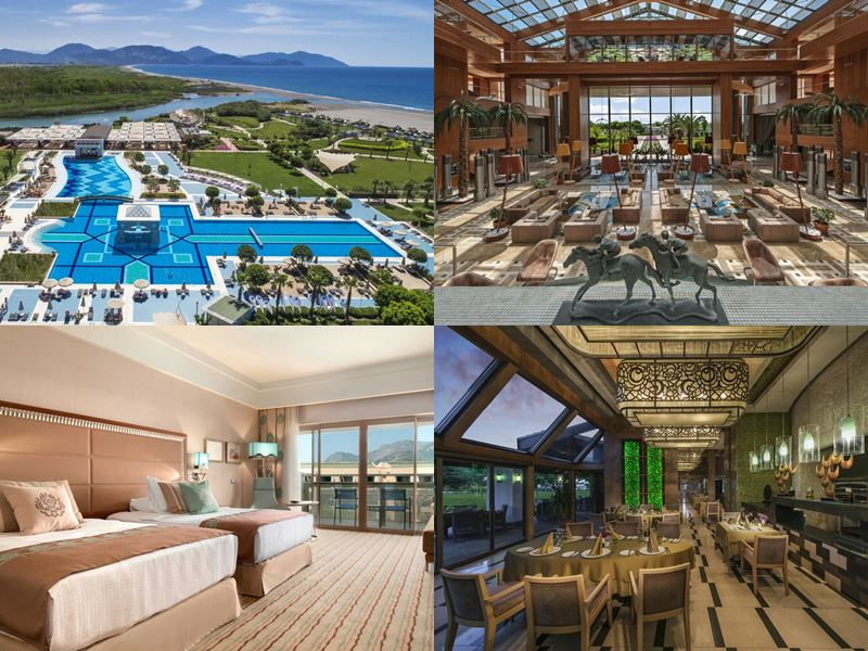 Лучшие курортные отели Турции 2017 - Hilton Dalaman Sarigerme Resort & Spa (5 звёзд)