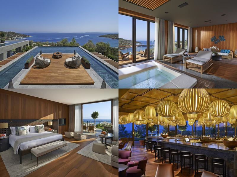 Лучшие курортные отели Турции 2017 - Mandarin Oriental, Bodrum (5 звёзд)