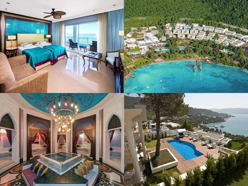Лучшие курортные отели Турции 2017 - Rixos Premium Bodrum All Inclusive (5 звёзд)