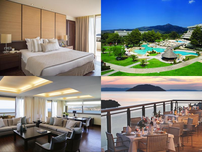 Лучшие курорты Греции 2017 - Porto Carras Grand Resort (Ситония, Неос-Мармарас)