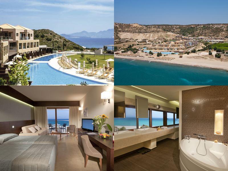 Лучшие курорты Греции 2017 - Blue Lagoon Village (остров Кос, Кефалос)