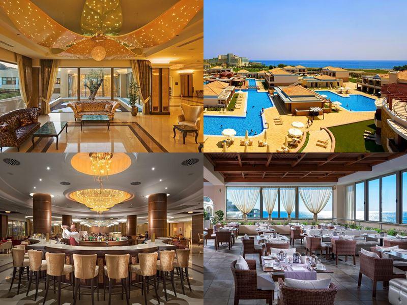 Лучшие курорты Греции 2017 - La Marquise Luxury Resort Complex (остров Родос Калифея)
