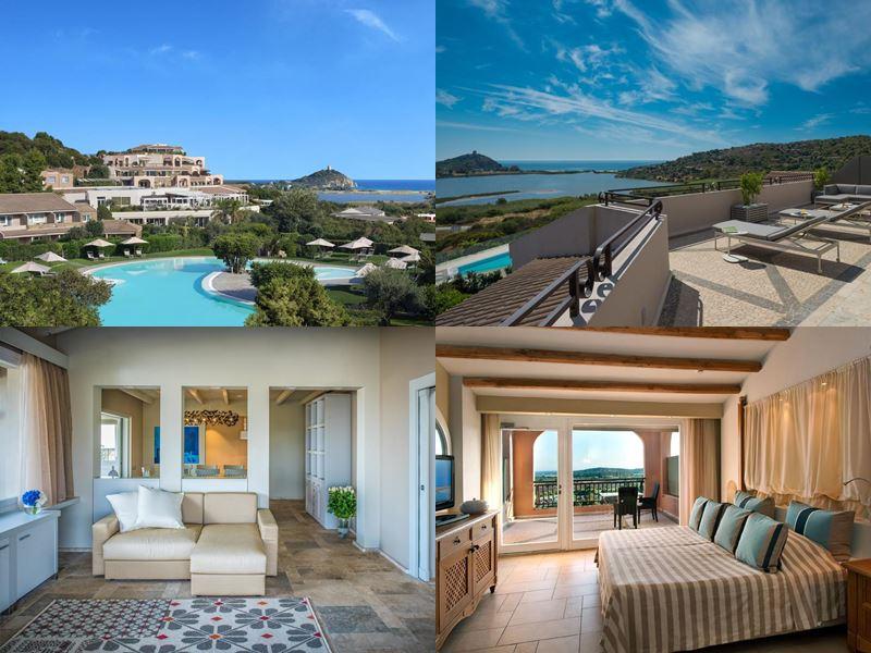 Лучшие курорты Италии 2017 - Chia Laguna Resort (остров Сардиния, Киа)