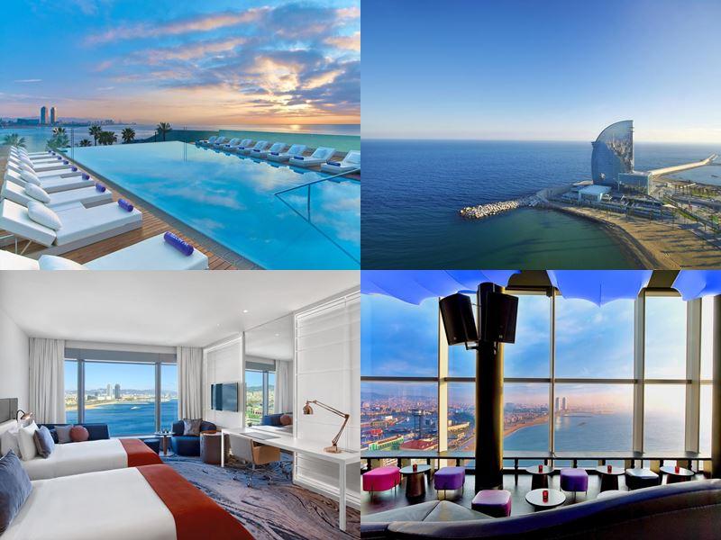 Лучшие отели Испании 2017 - W Barcelona (Барселона)