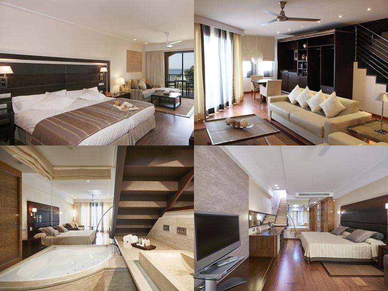 Лучшие отели Испании «всё включено» 2017 - Insotel Fenicia Prestige Suites & Spa - коричнево-бежевые номера)