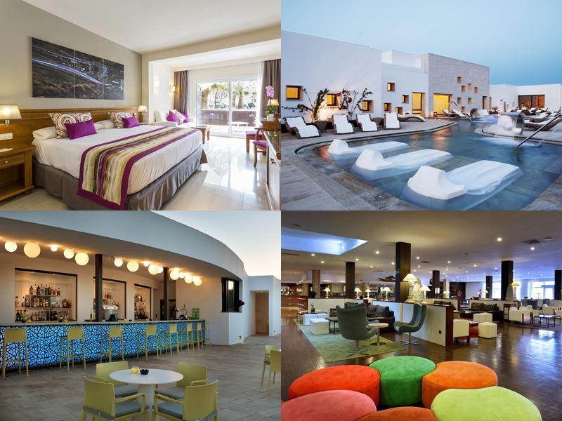 Лучшие отели Испании «всё включено» 2017 - The Grand Palladium Palace Ibiza Resort & Spa - номера и лаунж