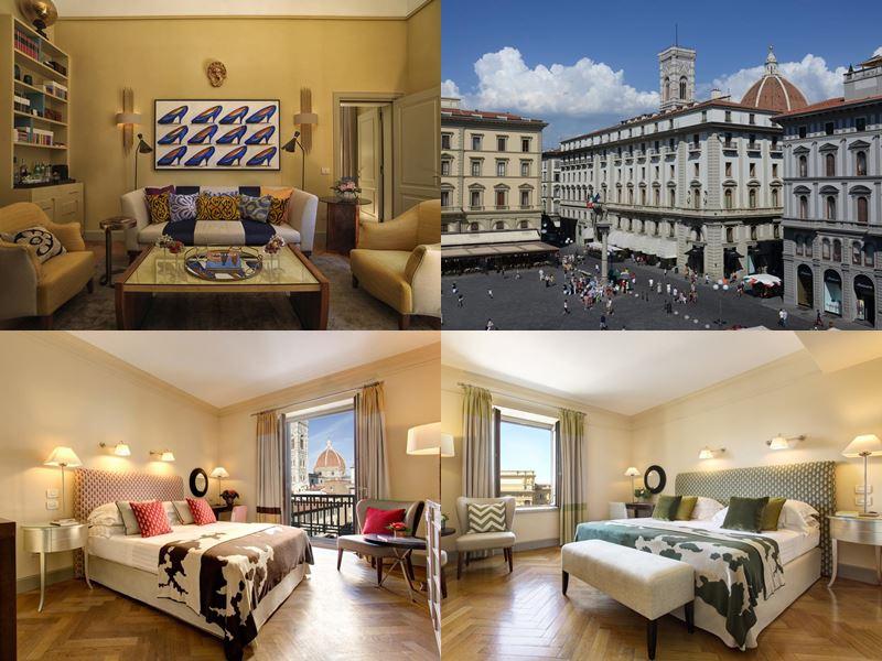 Лучшие отели Италии 2017 - Rocco Forte Hotel Savoy (Флоренция)