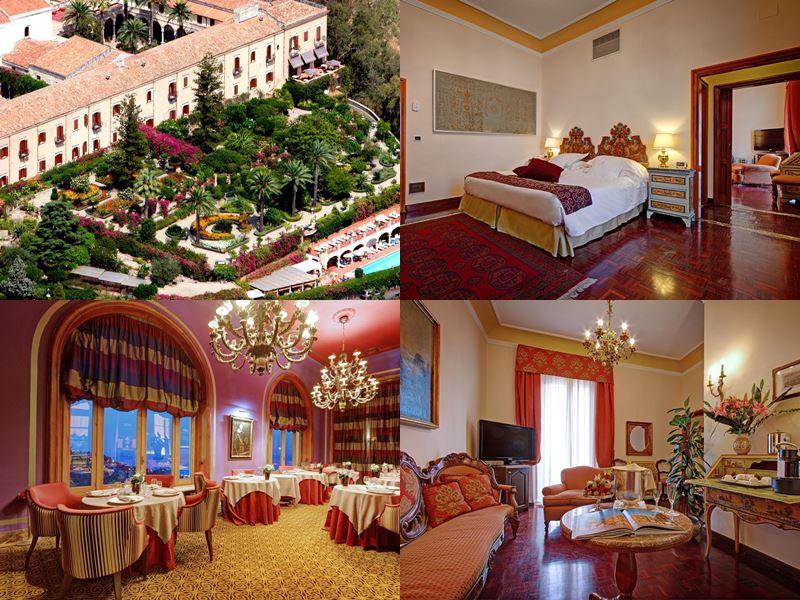 Лучшие отели Италии 2017 - San Domenico Palace Hotel (остров Сицилия, Таормина)