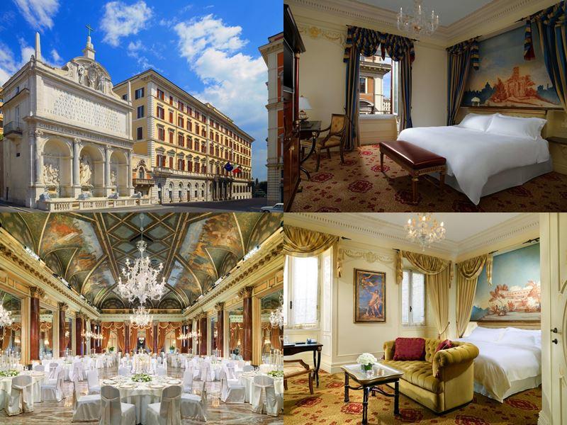 Лучшие отели Италии 2017 - The St. Regis Rome (Рим)