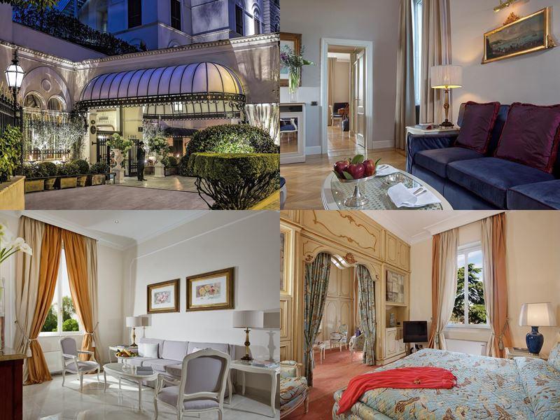 Лучшие отели Италии 2017 - Aldrovandi Villa Borghese (Рим)