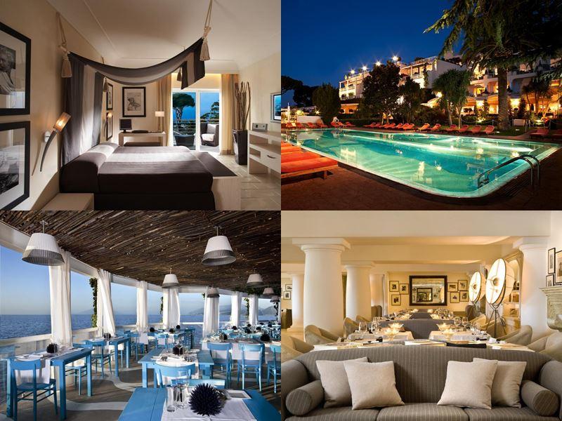 Лучшие отели Италии 2017 - Capri Palace Hotel & Spa (остров Капри, Анакапри)