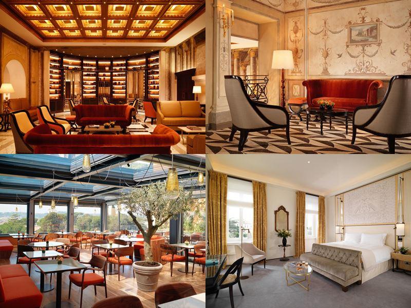 Лучшие отели Италии 2017 - Hotel Eden (Рим)