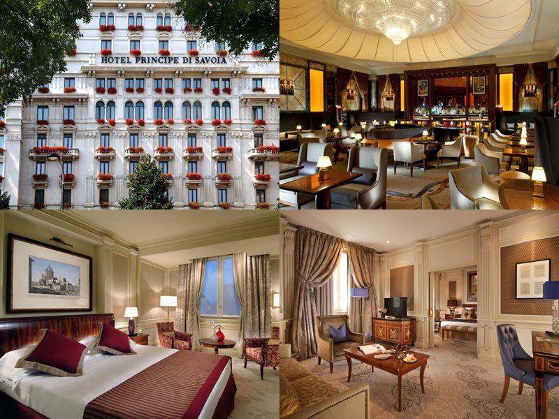 Лучшие отели Италии 2017 - Hotel Principe di Savoia Milan (Милан)