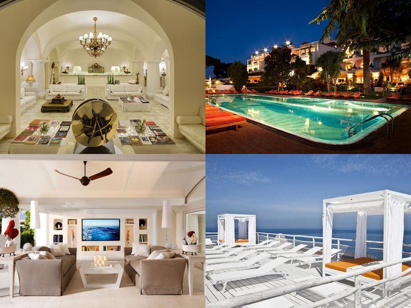 Лучшие в Европе отели с пляжем 2017 - Capri Palace Hotel & Spa (Италия, остров Капри)