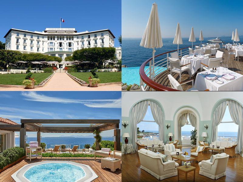 Лучшие в Европе отели с пляжем 2017 - Hotel du Cap-Eden-Roc (Франция, Антиб)