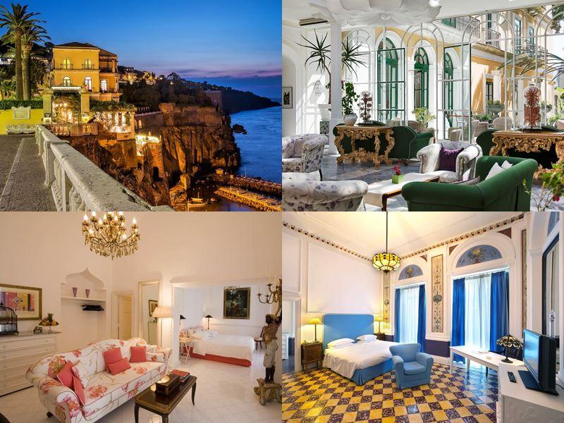 Лучшие в Европе отели с пляжем 2017 - The Bellevue Syrene (Италия, Сорренто)
