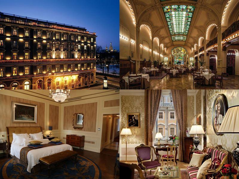 Гранд Отель Европа приглашает в романтический Петербург