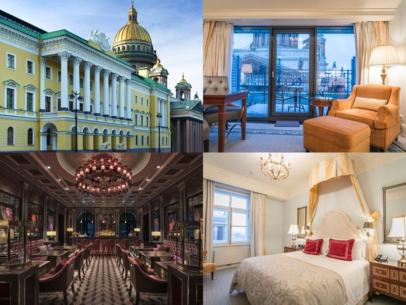 Лучшие отели России 2017 - Four Seasons Hotel Lion Palace (Санкт-Петербург)