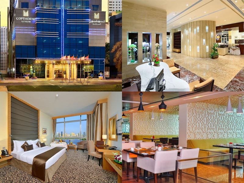 Лучшие отели Шарджи 2017 - Copthorne Hotel Sharjah (4 звезды)