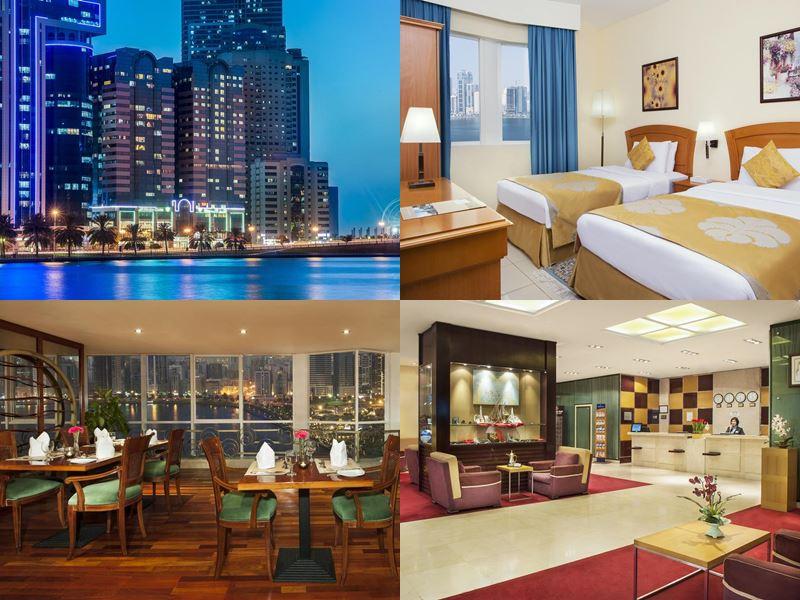 Лучшие отели Шарджи 2017 - Golden Tulip Sharjah (4 звезды)