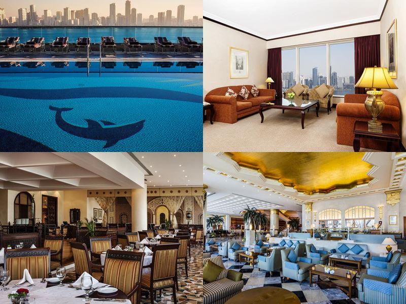 Лучшие отели Шарджи 2017 - Hilton Sharjah (5 звёзд)