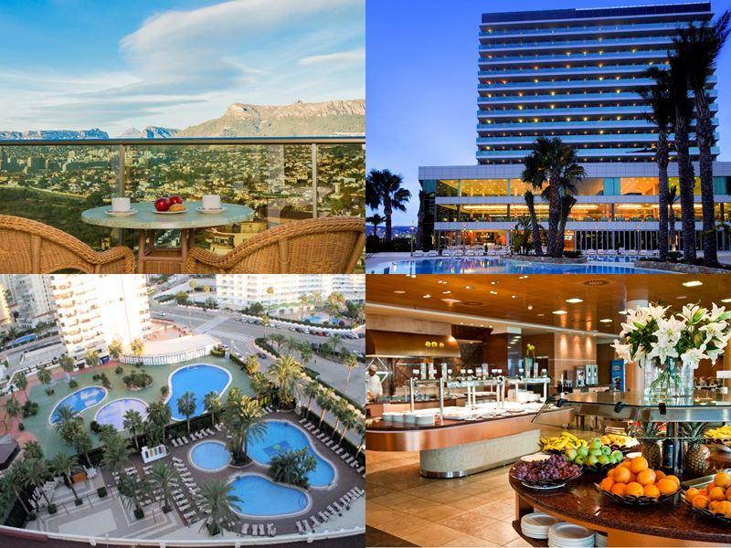 Лучшие пляжные курорты Испании 2017 - AR Diamante Beach SPA & Convention Centre (Аликанте, Кальпе)