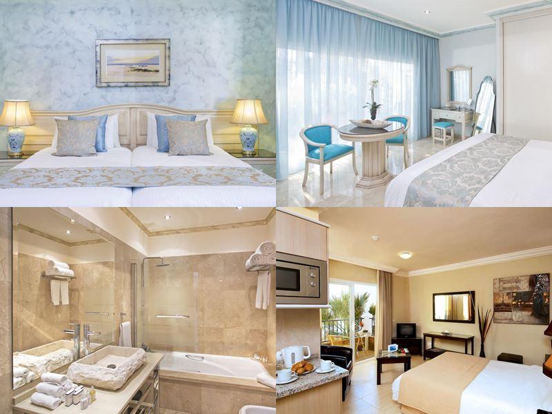 Лучшие пляжные курорты Испании 2017 - El Oceano Beach Hotel - интерьер номеров