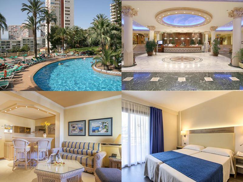 Лучшие пляжные курорты Испании 2017 - Hotel Palm Beach Benidorm (Аликанте, Бенидорм)