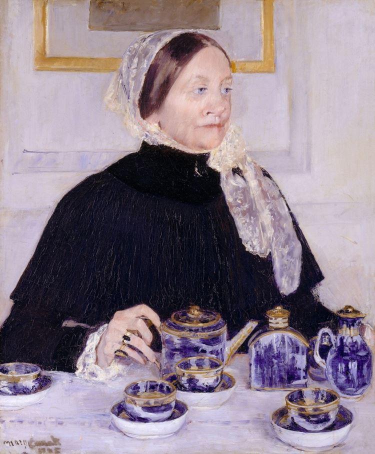 Чай как вдохновение: Мэри Кассатт, американская художница