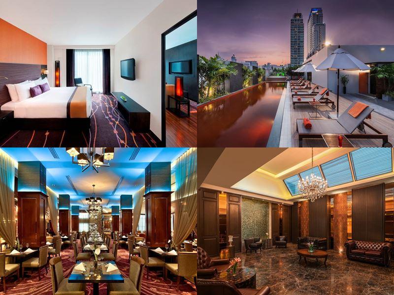 Отели Бангкока с бассейном на крыше - Radisson Suites Bangkok Sukhumvit (4 звезды)