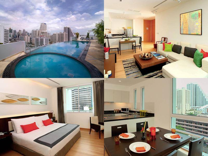 Отели Бангкока с бассейном на крыше - Shama Sukhumvit Soi 2 (4 звезды)