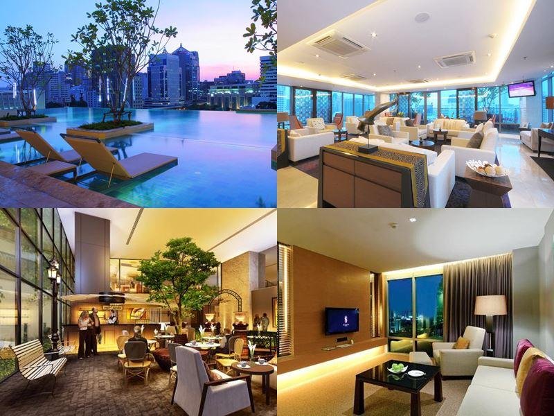 Отели Бангкока с бассейном на крыше - Sivatel Bangkok (5 звёзд)