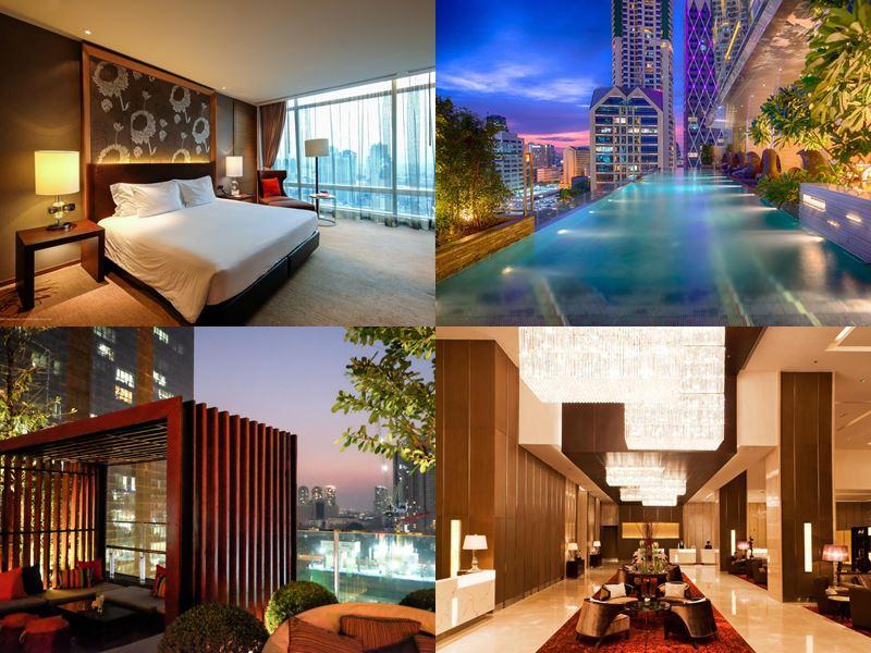 Отели Бангкока с бассейном на крыше - Eastin Grand Hotel Sathorn Bangkok (5 звёзд)