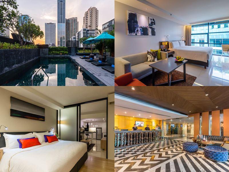 Отели Бангкока с бассейном на крыше - Maitria Hotel Sukhumvit 18 (4 звезды)