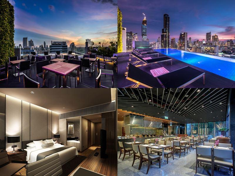 Отели Бангкока с бассейном на крыше - Amara Bangkok (5 звёзд)