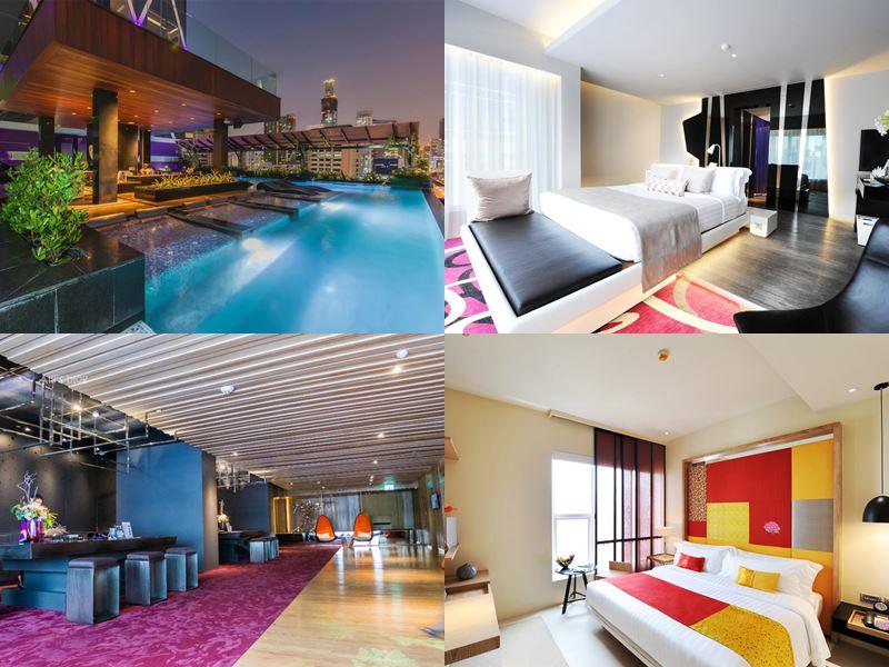 Отели Бангкока с бассейном на крыше - Mode Sathorn Hotel (4 звезды)