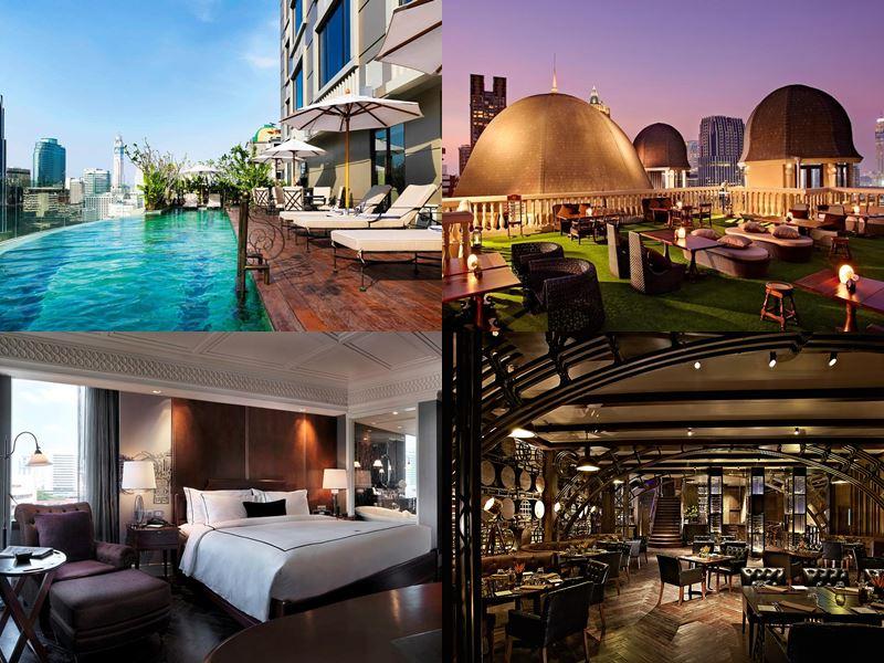 Отели Бангкока с бассейном на крыше - Hotel Muse Bangkok Langsuan - MGallery Collection (5 звёзд)